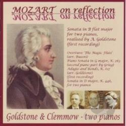 Goldstone & Clemmow / Mozart - Mozart on Reflection CD Cover Art