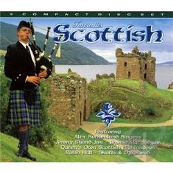 Scottish Favourites CD Cover Art