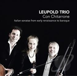 Leupold Trio - Con Chitarrone CD Cover Art