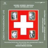 Orch Of Lubeck / Sacher / Yang - Sacher, Schweiz, Nachhall CD Cover Art