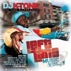 DJ Ktone - DJ KTone Presents: Left Lane Music, Vol. 1 CD Cover Art