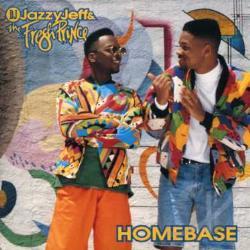 DJ Jazzy Jeff & The Fresh Princ - Homebase CD Cover Art