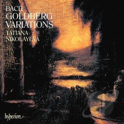 Bach / Nikolayeva - Bach: Goldberg Variations CD Cover Art