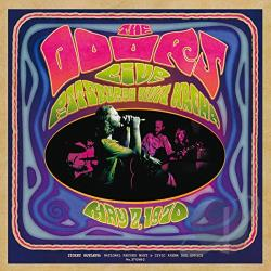 Doors - Live in Pittsburgh 1970 CD Cover Art