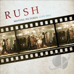 Rush - Moving Pictures: Live 2011 LP Cover Art