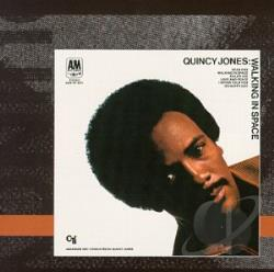 Jones, Quincy - Walking in Space CD Cover Art