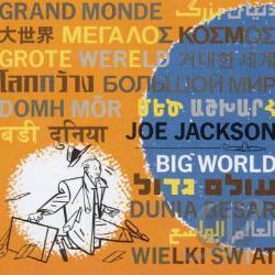 Jackson, Joe - Big World CD Cover Art