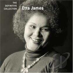 James, Etta - Definitive Collection CD Cover Art