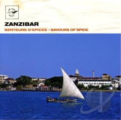 Air Mail Music: Zanzibar - Savours of Spice CD Cover Art