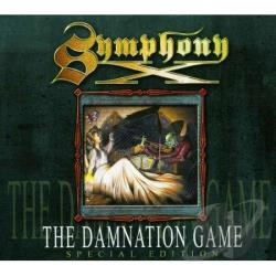 Symphony X - Damnation Game CD Cover Art