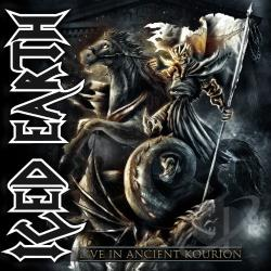 Iced Earth - Live in Ancient Kourion CD Cover Art