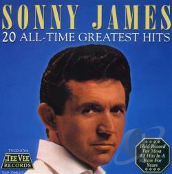 James, Sonny - 20 All-Time Greatest Hits CD Cover Art