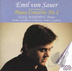 Marshev, Oleg / Von Sauer, Emil - Piano Concerto No. 2 CD Cover Art