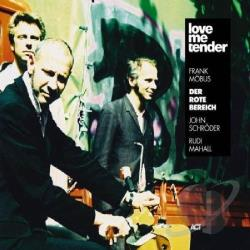 Der Rote Bereich / Mobus, Frank - Love Me Tender CD Cover Art