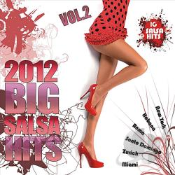 Big Salsa Hits 2012, Vol. 2 CD Cover Art