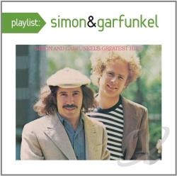 Simon & Garfunkel - Playlist: The Very Best of Simon & Garfunkel CD Cover Art