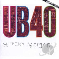 Ub 40 - Geffery Morgan... CD Cover Art