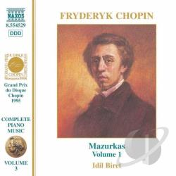 Chopin - Chopin: Complete Piano Music, Vol. 3 CD Cover Art