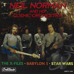 Norman, Neil - X-Files, Babylon 5, Star Wars CD Cover Art