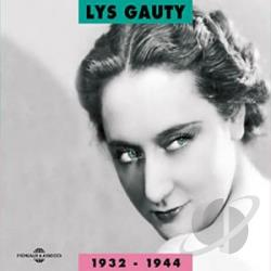 Gauty, Lys - 1932-44 CD Cover Art