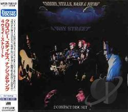 Crosby, Stills, Nash & Young - 4 Way Street CD Cover Art