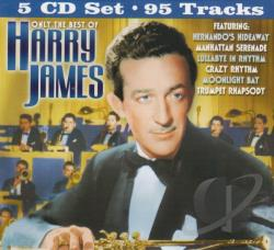 James, Harry - Only the Best of Harry James CD Cover Art