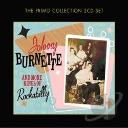 Burnette, Johnny - Johnny Burnette and More Kings of Rockabilly CD Cover Art