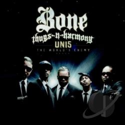 Bone Thugs-N-Harmony - Uni5:World's Enemy CD Cover Art