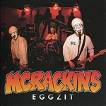 McRackins - Eggzit CD Cover Art