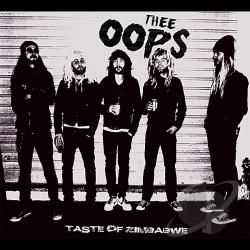 Thee Oops - Taste of Zimbabwe LP Cover Art