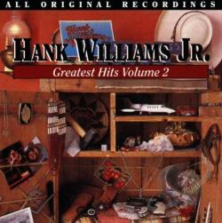 Williams, Hank, Jr. - Hank Williams, Jr.'s Greatest Hits, Vol. 2 CD Cover Art
