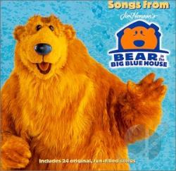 Disney - Bear In The Big Blue House CD Cover Art