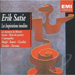 Satie - Satie: Les Inspirations Insolites CD Cover Art