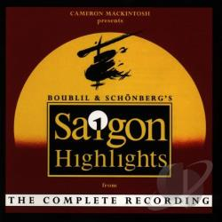 Miss Saigon (Highlights) - International Cast CD Cover Art