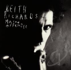 Richards, Keith - Main Offender CD Cover Art