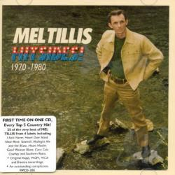Tillis, Mel - Hitsides! 1970-1980 CD Cover Art