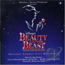 Beauty & The Beast - London Cast Recording CD Cover Art