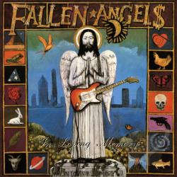Fallen Angels (80s Punk) - In Loving Memory/Wheel of Fortune' CD Cover Art