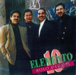 Elemento 10 - Solo Para Ti CD Cover Art
