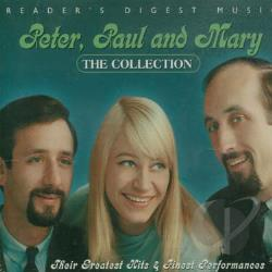Peter, Paul, and Mary - Collection CD Cover Art