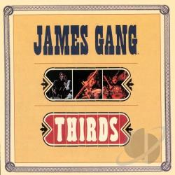 James Gang - Thirds CD Cover Art