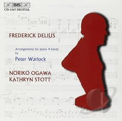 Delius / Ogawa / Stott - Delius: Arrangements for Piano, Four Hands CD Cover Art