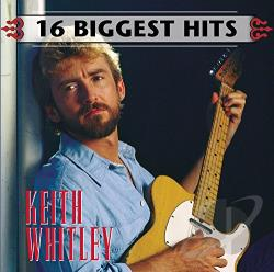 Whitley, Keith - 16 Biggest Hits CD Cover Art