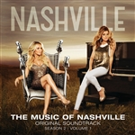 Nashville Cast - Music Of Nashville Season 2 Volume 1 DB Cover Art
