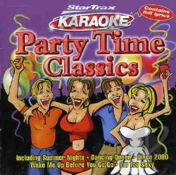 Karaoke - Party Time Classics Karaoke CD Cover Art