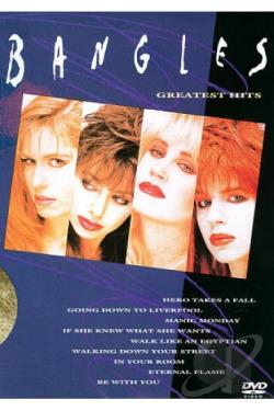 Bangles - Greatest Hits (Pal/Region 0) DVD Cover Art