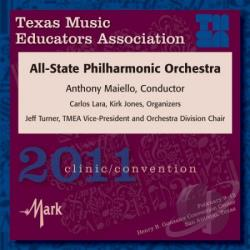 2011 Tmea All-State Philharmonic Orchestra - 2010 Texas Music Educators Association CD Cover Art