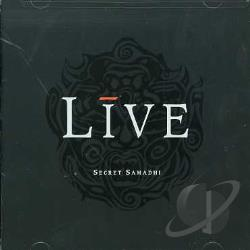 Live - Secret Samadhi CD Cover Art