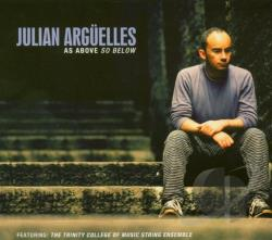Arguelles, Julian - As Above So Below CD Cover Art