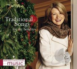 Martha Stewart Living Music: Traditional Songs For The Holidays CD Cover Art